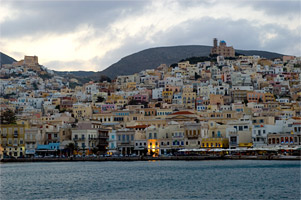 The Harbour of Syros